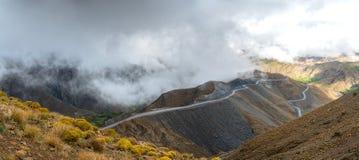 Panorama van bergen Royalty-vrije Stock Afbeelding