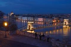 Panorama van Boedapest Royalty-vrije Stock Foto