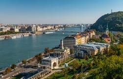 Panorama van Boedapest stock foto