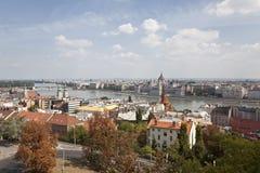 Panorama van Boedapest Stock Fotografie