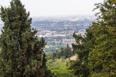 Panorama van Bologna Royalty-vrije Stock Foto