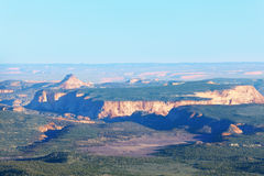 Panorama van Bryce Canyon in de zon, Utah stock foto's