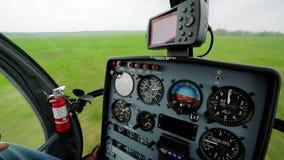 Panorama van cabine stock videobeelden