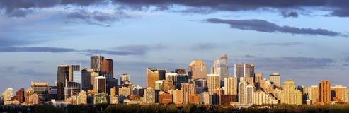 Panorama van Calgary stock foto's
