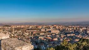 Panorama van Campobasso Stock Afbeeldingen