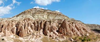 Panorama van Cappadocia Royalty-vrije Stock Afbeelding