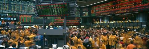 Panorama van Chicago Mercantile-Uitwisseling Royalty-vrije Stock Afbeelding