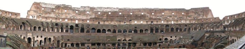 Panorama van Colosseum Stock Afbeelding