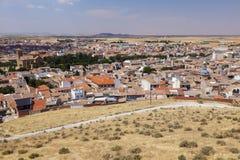 Panorama van Consuegra Royalty-vrije Stock Fotografie