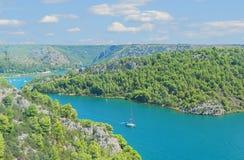 Panorama van croazia Stock Foto