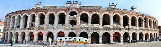 Panorama van de Arena stock foto