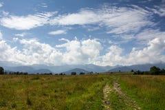 Panorama van de berg Royalty-vrije Stock Foto's