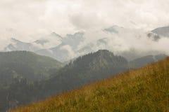 Panorama van de berg Royalty-vrije Stock Afbeeldingen
