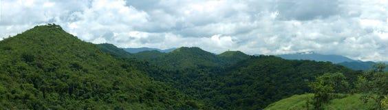 Panorama van de bergen Royalty-vrije Stock Fotografie