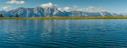 Panorama van de bergen van Mutteralm Royalty-vrije Stock Foto