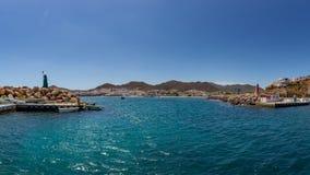 Panorama van de haven van San Jose royalty-vrije stock afbeeldingen