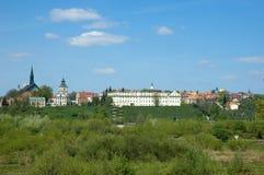 Panorama van de historische stad Royalty-vrije Stock Foto