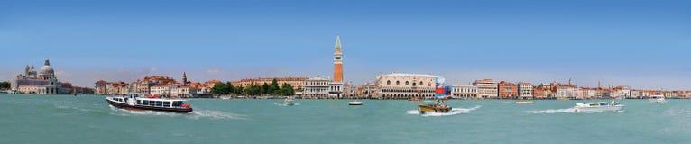 Panorama van de Lagune van Venetië royalty-vrije stock afbeelding