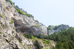 Panorama van de Rhodope-Bergen Royalty-vrije Stock Fotografie