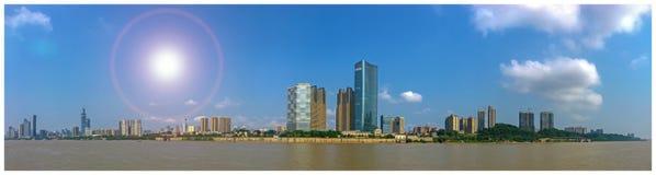 Panorama van de Stad van Tchang-cha Royalty-vrije Stock Afbeeldingen