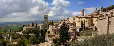 Assisi-Italië Royalty-vrije Stock Foto's