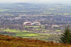 Panorama van de stad van de Limerick Royalty-vrije Stock Afbeelding