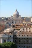 Panorama van de stad van Vatikaan Stock Fotografie