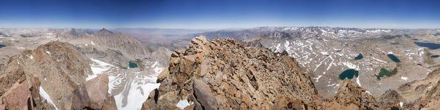 Panorama van de Top van Onderstelhumphreys Royalty-vrije Stock Fotografie