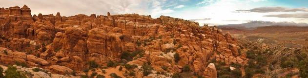 Panorama van de Tuin van Duivels. Royalty-vrije Stock Afbeeldingen