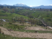 Panorama van de vallei van Kashmir Royalty-vrije Stock Afbeelding