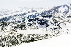 Panorama van de Zeven Rila-Meren in Rila-berg, Bulgarije Stock Foto's