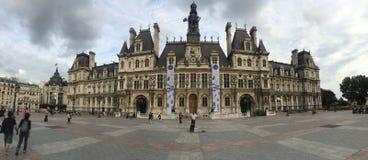 Panorama van Esplanade DE Liberation stock foto's