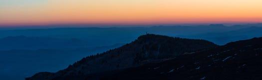 Panorama van Etna Royalty-vrije Stock Afbeeldingen