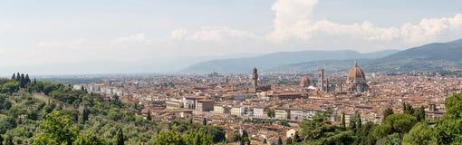 Panorama van Florence Stock Afbeelding