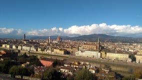Panorama van Florence, Italië Stock Afbeelding
