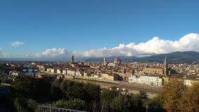Panorama van Florence, Italië Royalty-vrije Stock Foto