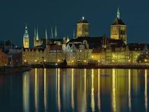 Panorama van Gdansk Royalty-vrije Stock Fotografie