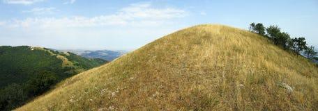 Panorama van grote heuvel Royalty-vrije Stock Foto