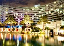 Panorama van het hotel Stock Foto's