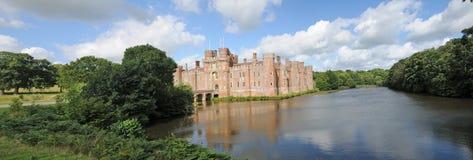 Panorama van het kasteel Stock Afbeelding