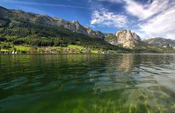 Panorama van het meer Royalty-vrije Stock Foto