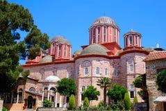 Panorama van historische kerk Stock Afbeeldingen