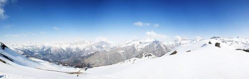 Panorama van Italiaanse Alpen Stock Foto