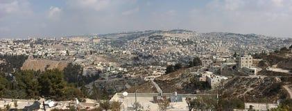 Panorama van Jeruzalem Royalty-vrije Stock Foto's