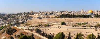 Panorama van Jeruzalem Stock Afbeeldingen