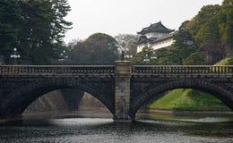 Keizer Plaats in Tokyo stock afbeeldingen