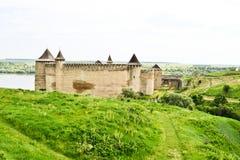 Panorama van Khotyn-Vesting royalty-vrije stock afbeeldingen