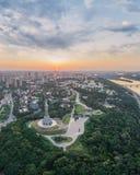 Panorama van Kiev royalty-vrije stock afbeelding