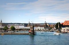 Panorama van Konstanz royalty-vrije stock afbeeldingen