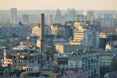 Panorama van Kyiv Royalty-vrije Stock Afbeeldingen
